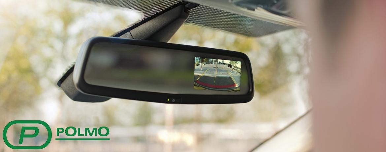 зеркало в салоне авто